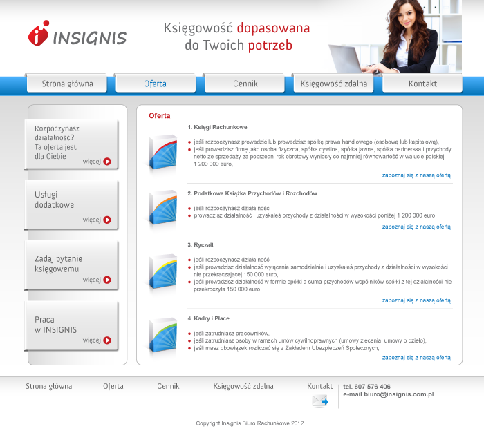 Webpage Insignis